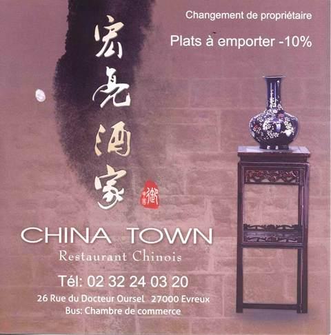 Restaurant Chinois Centre Ville Evreux